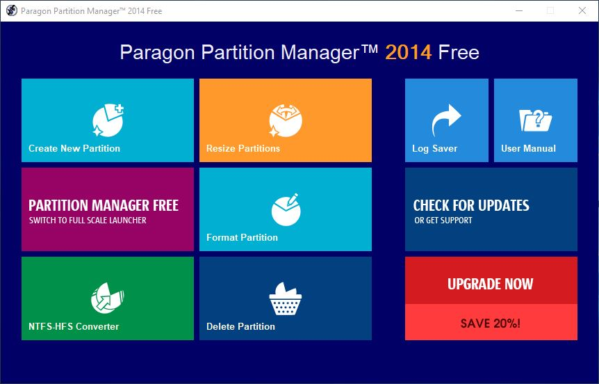 Paragon Partition Manager FullEdition 14